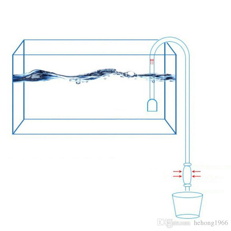 Süzgeç Ile 1.7 M Plastik Balık Tankı Sifon Pompası Pratik Ekonomik Tasarım Akvaryum Temiz Araçları Vakum Su Değişimi Çakıl Temizleyici 2 6hh KK
