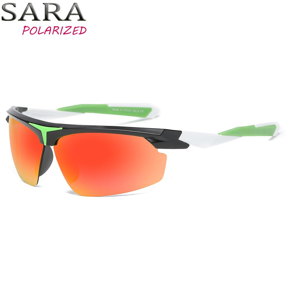 Sara Men Polarized Sunglasses Woman Design Plastic Frame Sun Glasses ...