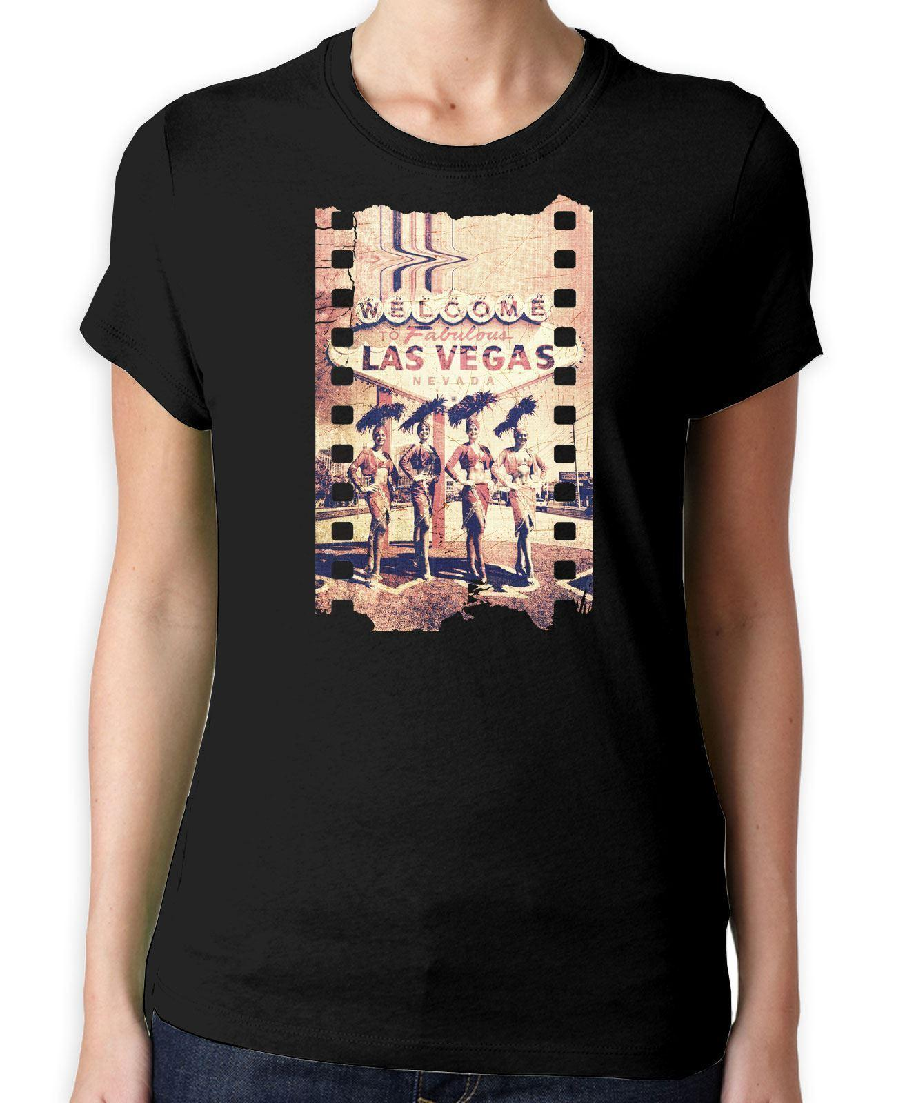 Welcome To Las Vegas Women S T Shirt Holiday USA America Vintage Tee Shirts  Family T Shirts From Bincheng3 08182646f