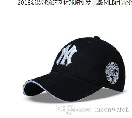 2b2bf3b2e2f Baseball Cap NY Embroidery Letter Sun Hats Adjustable Snapback Hip Hop  Dance Hat Summer Outdoor Men Women Visor Custom Hat Caps For Men From  Meonwatch