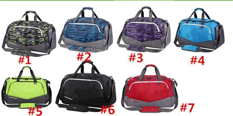e49d2f7d7947 Unisex UA Duffle Bag Travel Handbag Under Waterproof Nylon Shoulder Tote  Bags Large Capacity Handbags Outdoor Sports Bag Packsack 2018 Tote Bag  Duffel Bag ...