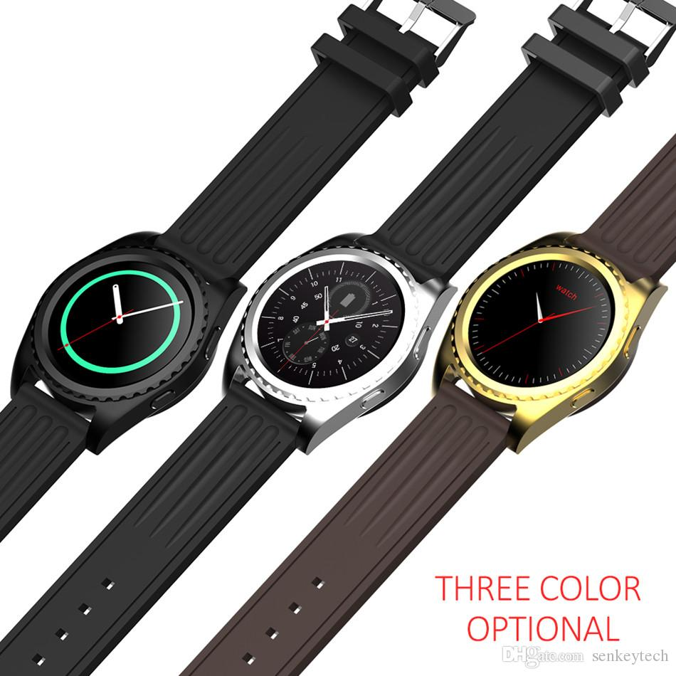 Smart Watch GS3 Support Bluetooth Phone Call Heart Rate Monitor Fitness Tracker Electronic Gear Sport Watch For iOS Android Smart Phone