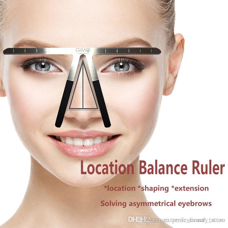 Microblading Eyebrow Tattoo Stencil Ruler Shaper Template Definition