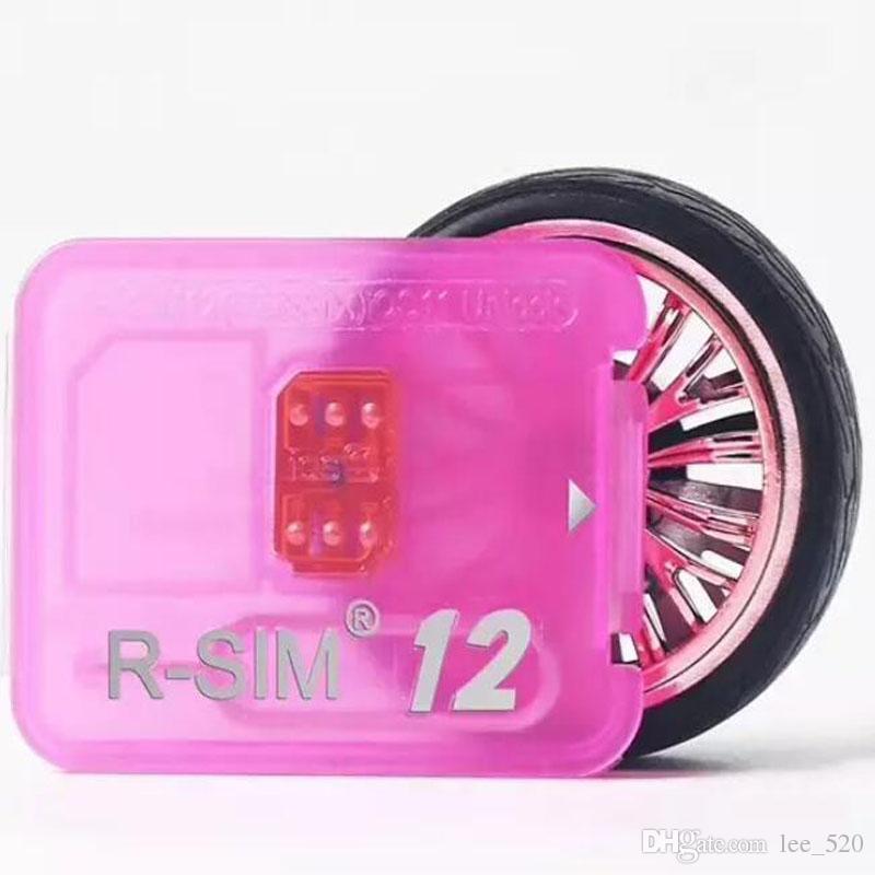 Rsim 12 + r sim 12 + RSIM12 + iphone iPhone 8 iPhone 7 için kapak kilidini artı ve i6 kilidi IOS 11.x-7.x 4G CDMA GSM WCDMA SB AU SPRINT