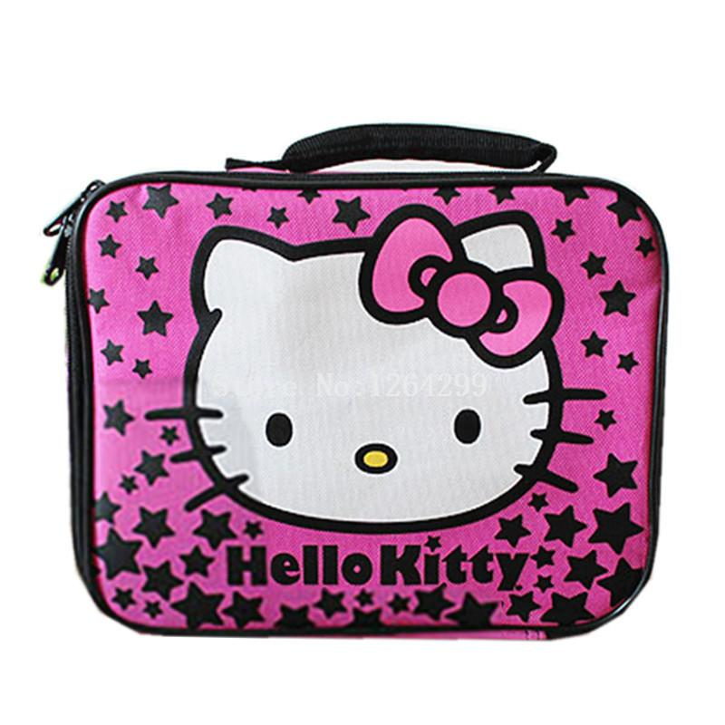 New Fashion Hello Kitty Girls Kids Oxford Lunch Bags for Children ... b9536f40d1dd7