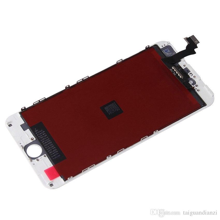 100% orijinal ekran lcd için iphone 6 plus ekran lcd yedek ekran dokunmatik ekran digitizer kaliteli lcd'ler, ücretsiz kargo