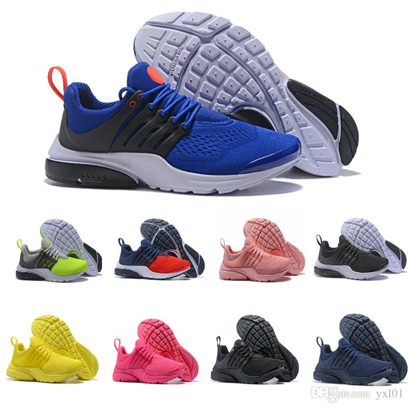 2019 2018 New Presto Men Women V Breathable Prestos Blackout Cheap Sneaker Red Navy Blue Triple White Black Fall Olive Athletic Shoes SZ36 45 From