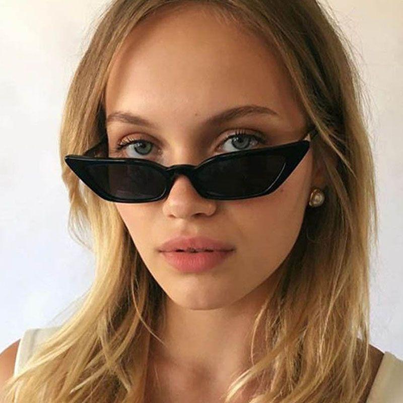 9b3f21a97fa Rita Ora Retro Women Sunglasses Cat Eye Luxury Brand Designer Shade Sun  Glasses Small Eyewear Sexy Ladies Sunglass Black Oculos Sports Sunglasses  Cheap ...
