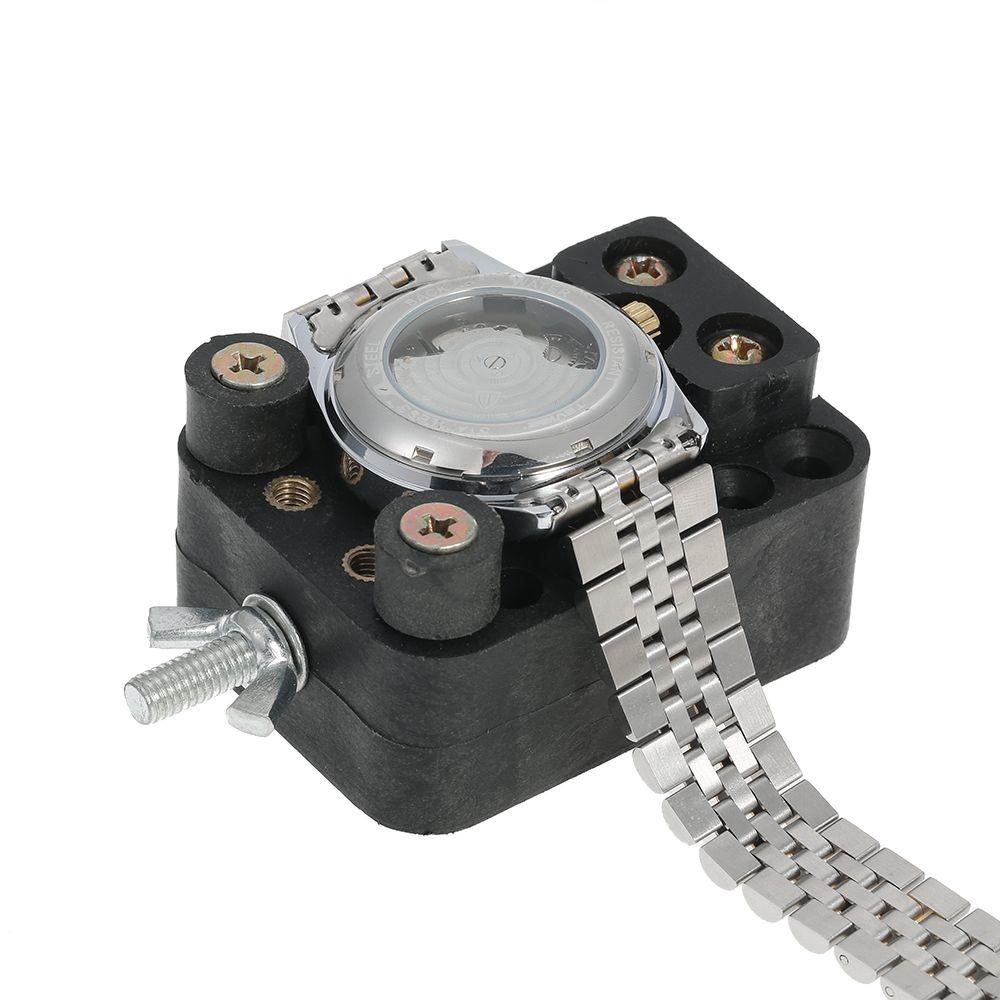 Profesional 13 UNIDS Juego de Herramientas de Reparación de Reloj Abridor de Casos Banda Removedor Destornilladores Juego de Herramientas de Relojero Pinza Relojero Dispositivo Dedicado