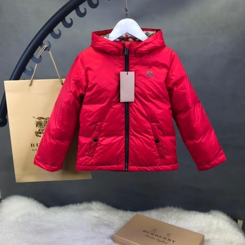 f6e839b36 New Pattern Children Down Baby Coats Jackets Girl Middle Length ...
