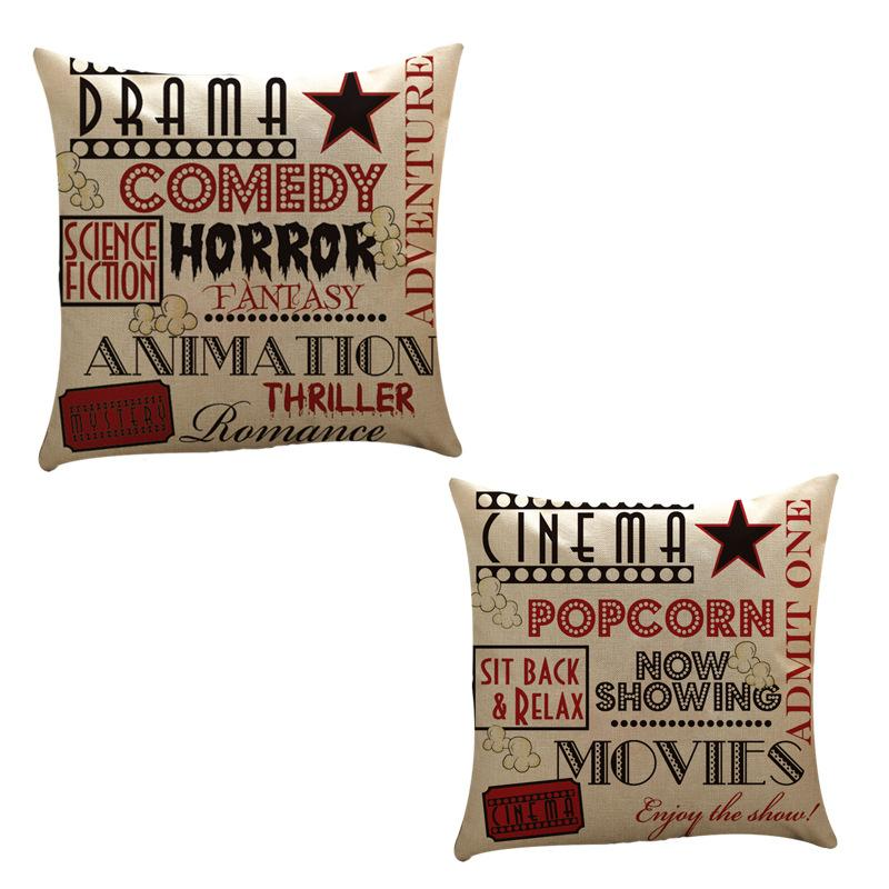 Sell Hot Stamp Letter Linen And Pillow Set To Customize Factory