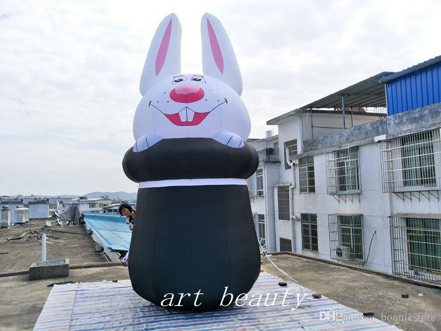 new design big Easter inflatable rabbit bunny balloon indoor outdoor Easter decor