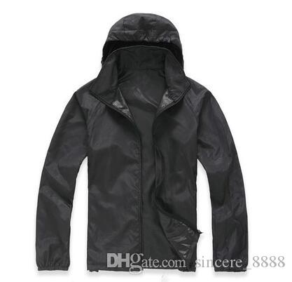 d3121d553d3 Hot Sale Summer Mens Womens Jackets Fashion Ultra-thin Hoodies    Sweatshirts Quick-drying Clothes Windbreaker Jackets XS-3XL Online with   18.06 Piece on ...