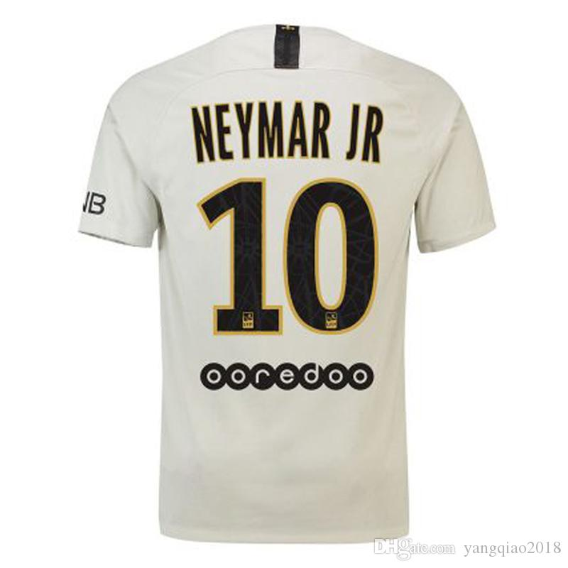 18 19 NEYMAR JR Soccer Jersey Men PSG Home Away MBAPPE Football ... e0e16390d