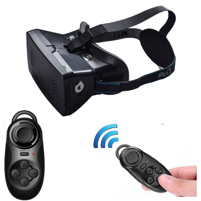 41886131054 3D Video Glasses Universal Virtual Reality + Bluetooth Game Controller For  3.5 To 6 Inch Smartphones Mobile Phone Wholesale Homemade 3d Glasses Paper  3d ...