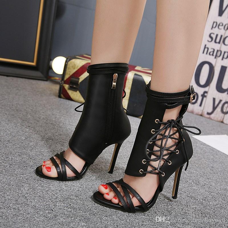 Sexy stiletto sandals