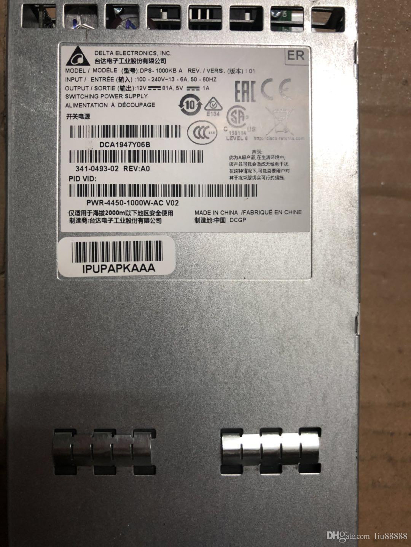 High quality server power supply for PWR-4450-POE-AC/ C3K-PWR-300WDC / C3K-PWR-300WAC