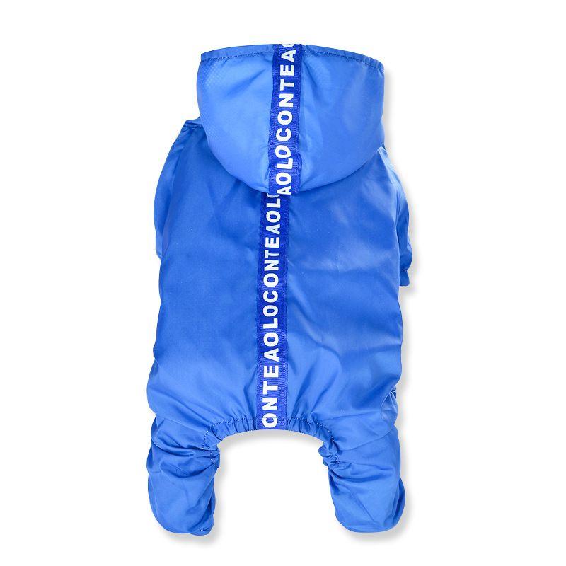 Dog Cat Rain Coat Hoodie Raincoat Jacket Waterproof Clothes For SMALL Pet S-XXL