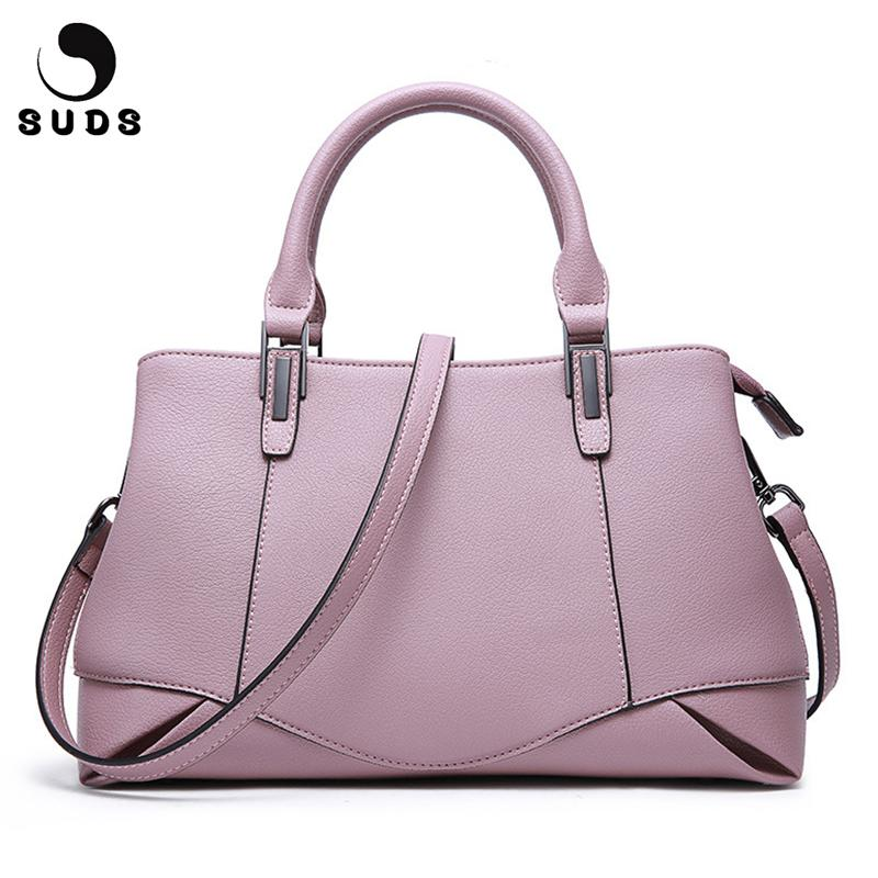 96b9580a4b SUDS Brand Women Bag Genuine Leather Handbags Shoulder Crossbody Bags  Designer High Quality Female Cow Leather Tote Shoulder Bag Designer Bags  Hobo Bags ...