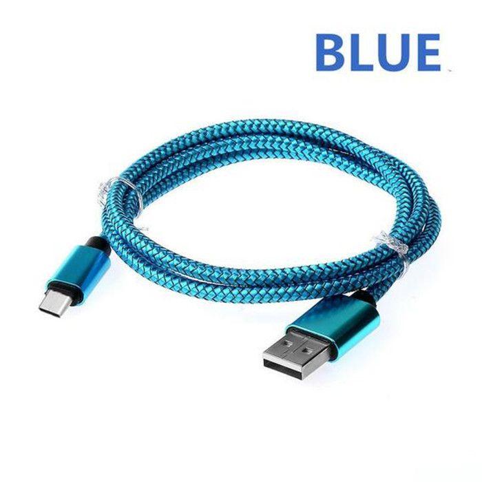 1M 2M 3M 알루미늄 합금 충전 브레이드 패브릭 USB 2.0 유형 C 데이터 케이블 액세서리 번들 유형 c 삼성 안드로이드