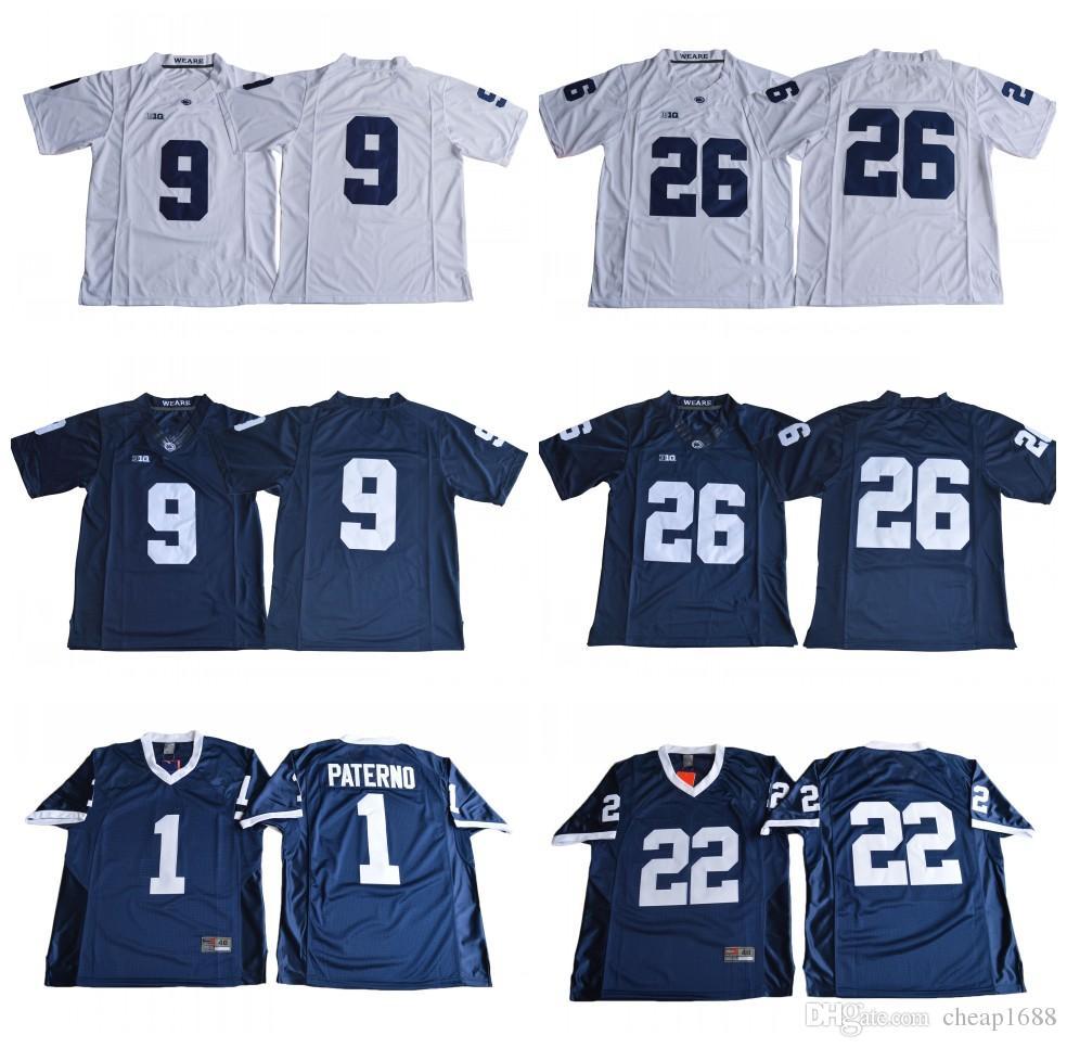 2019 Penn State Nittany Lions 26 Saquon Barkley 1 Joe Paterno 9 Trace  McSorley 22 Akeel Lynch NCAA BIG Ten College Football Jerseys From  Cheap1688 dc6372b2a
