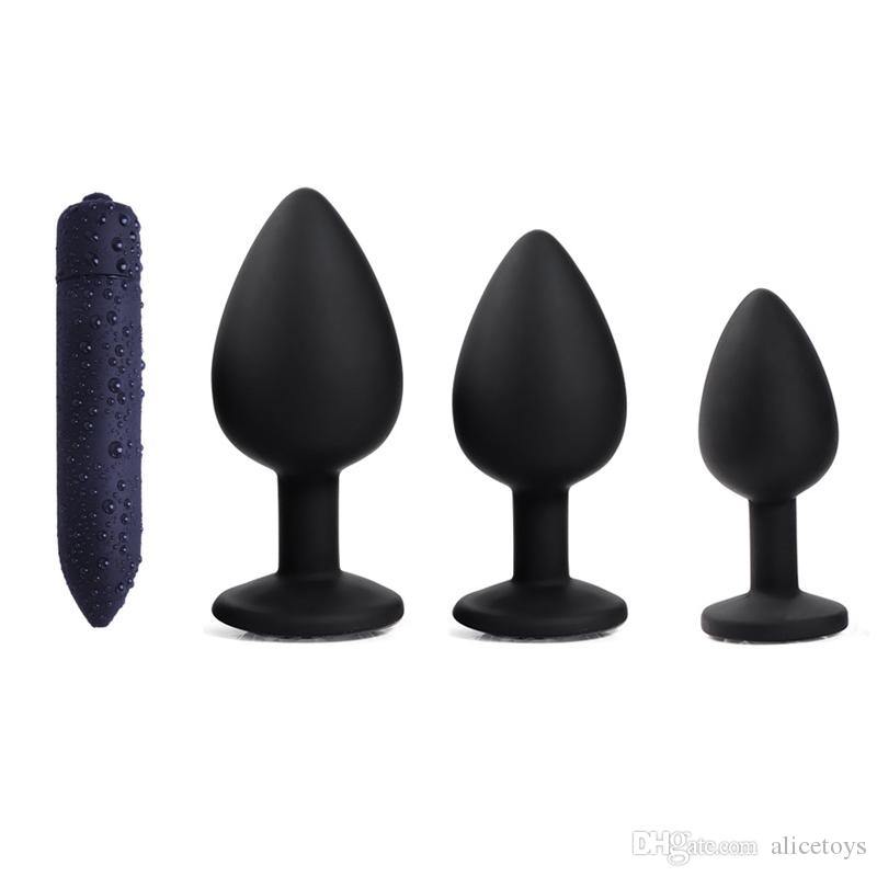 18 expanable silicone anal douche probe