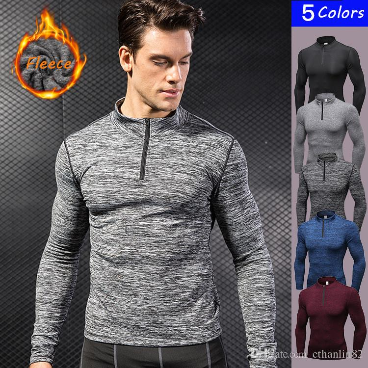 Fashion Style Long Sleeve T-shirt Running Sports Thermal Gym Compression The Latest Fashion Activewear Activewear Tops