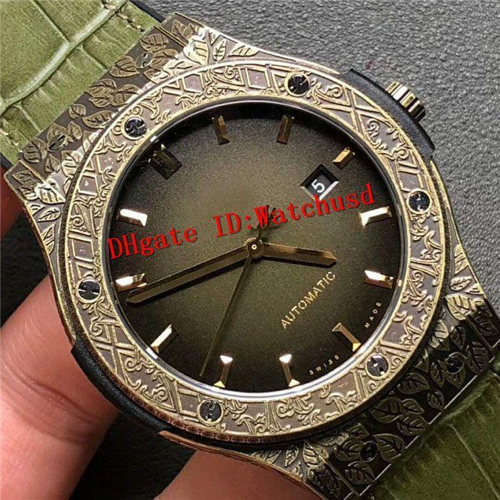 d3c5f6412a620 Compre SR Top Fábrica De Luxo Relógio Suíço 2892 Automático De Cristal De  Safira Escultura Em Preto Moer Arenaceous Titanium Caso De Ouro Mens  Relógios De ...