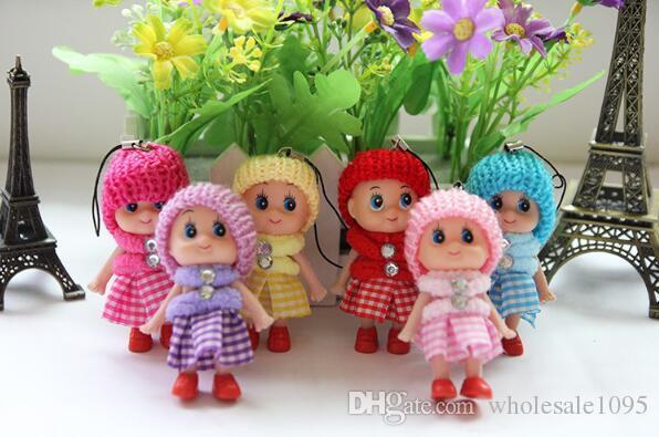 Mini Plush Skirt Doll Pendant For Christmas Kids Gifts Decor Wedding Favor TOYS YH1137