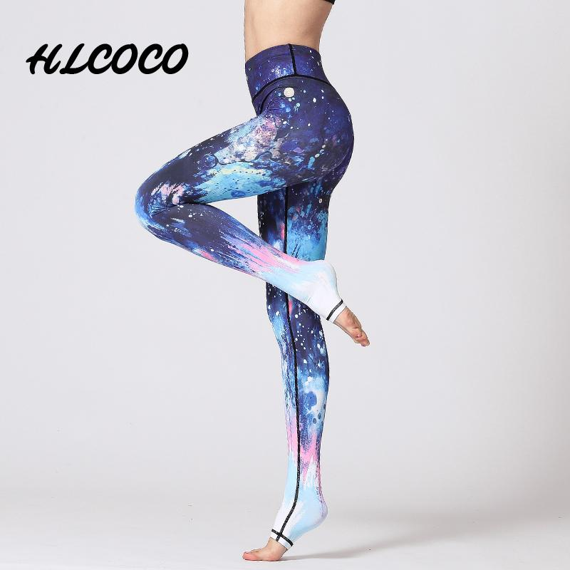 e33af2af33 Fitness Trousers Sport Pants Women Elastic Printed Yoga Pants Yoga Leggings  Running Tights Sport Leggings Gym Yoga Clothes Online with $30.76/Piece on  ...