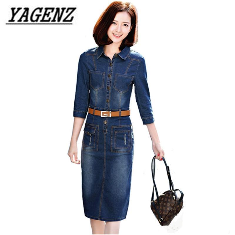 Vintage Fashion Abito Acquista Slim New Manica 34 Jeans Donna 2018 qVpGUzMS