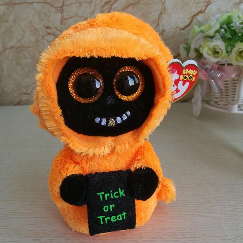 2018 New Halloween Ghost Plush Toy Ty Beanie Boos Collection Kids Toy  Holiday Gift Good Quality Soft Home Decor Party UK 2019 From Lou88 a3f533aeba7