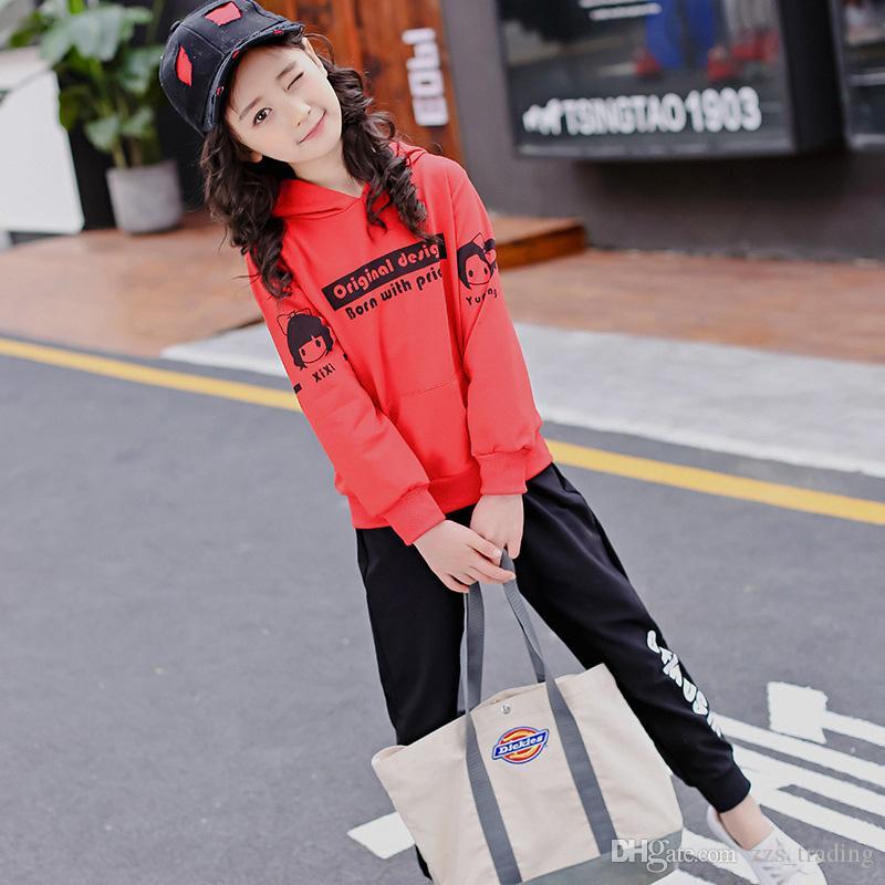 6e7587b2c 2019 Tracksuit Autumn Baby Clothing Sets Children Girls Fashion ...