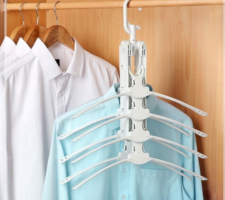 Magic Clothes Drying Rack Multifunctional Clothing Hanger Organizer