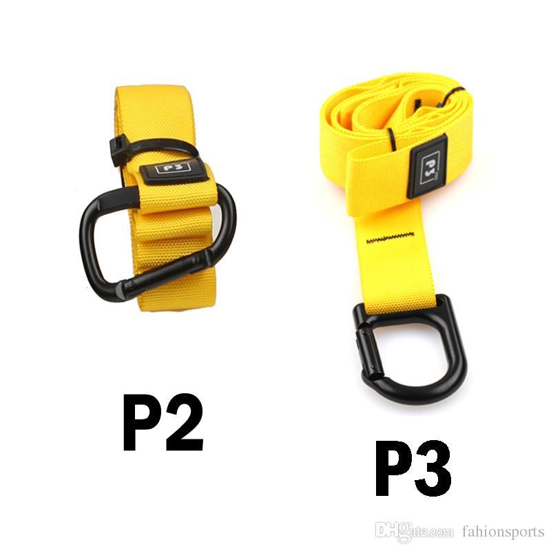 حار بيع معدات المقاومة البولنجر crossfit قوة شنقا حزام التدريب ياقة تمرين تعليق المدرب حزام