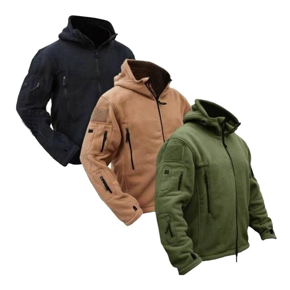 447312f63 2019 Men US Military Winter Thermal Fleece Tactical Jacket Outdoors Sports  Hooded Coat Militar Softshell Hiking Outdoor Army Jackets Y1893006 From ...