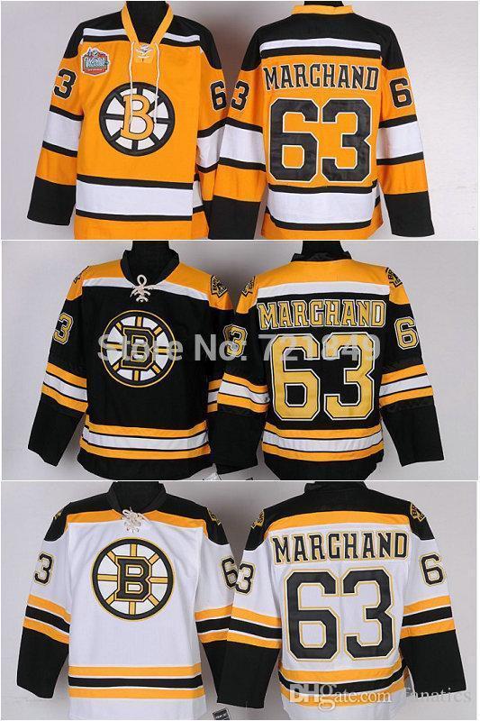 ... usa 2019 mens womes youth custom boston bruins blank jerseys 63 brad  marchand ice hockey jerseys 601534680