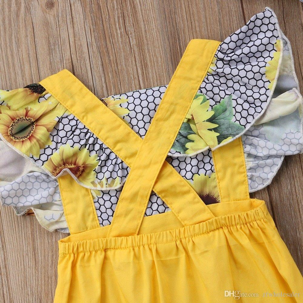 Newborn Baby Girls Romper General Floral Niño Jumpsuit Outfit Infant Onesies Body