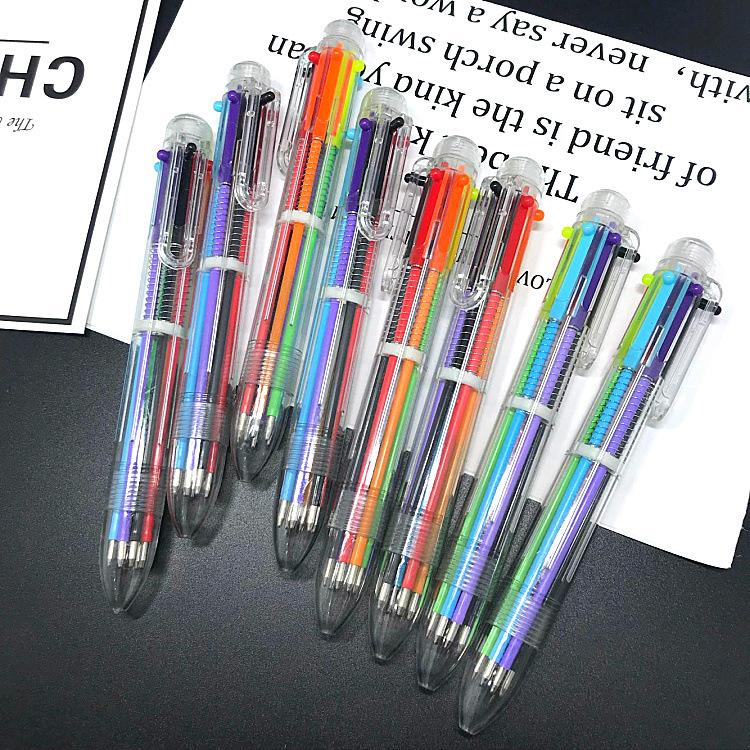 Multi Color 6 In Ink Ballpoint Pen Ball Point Pens ...