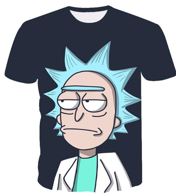 76bac5c0e0d57 Cool Rick Morty Men T Shirt 2018 Summer Anime T Shirts Rick And Morty  Worlds Folk Black White Fitness Cartoon Tee Shirt S XXXXXXL U181 Graphic Tee  Shirts T ...