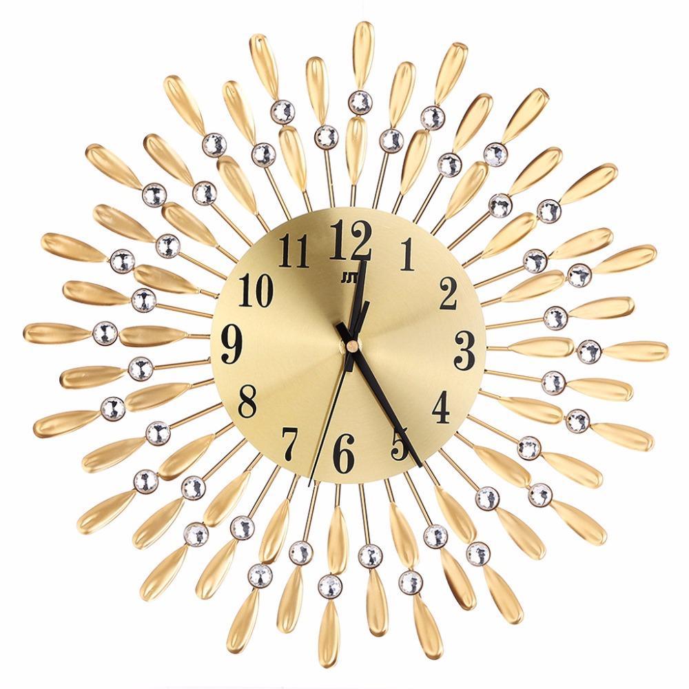 Modern Metal Wall Clock