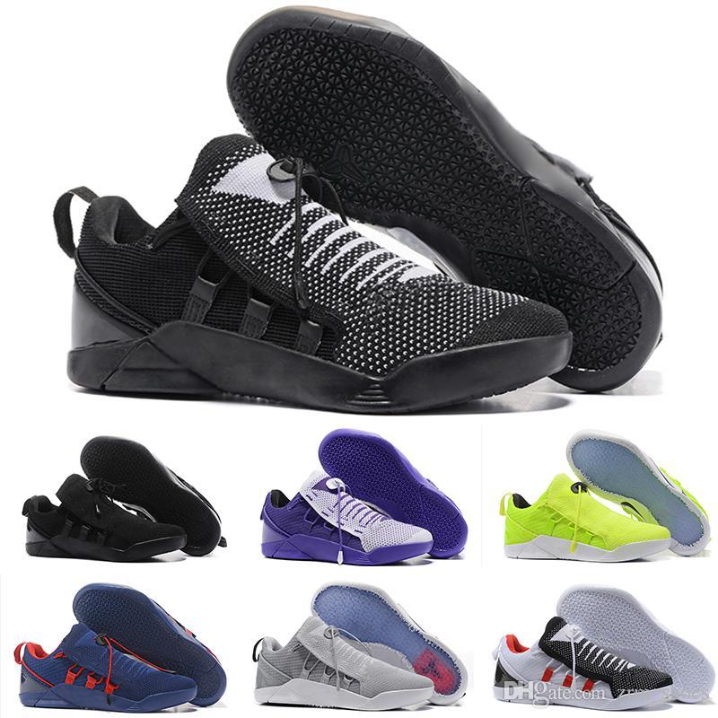 brand new 526fb 61915 Acheter Nike KOBE AD NXT 12 Nouveau 2018 Vente En Gros Kobe KB 9 IX Elite  Black Mamba Blackout Noël Haut Haut Hommes Basketball Sport Chaussures De  Course ...