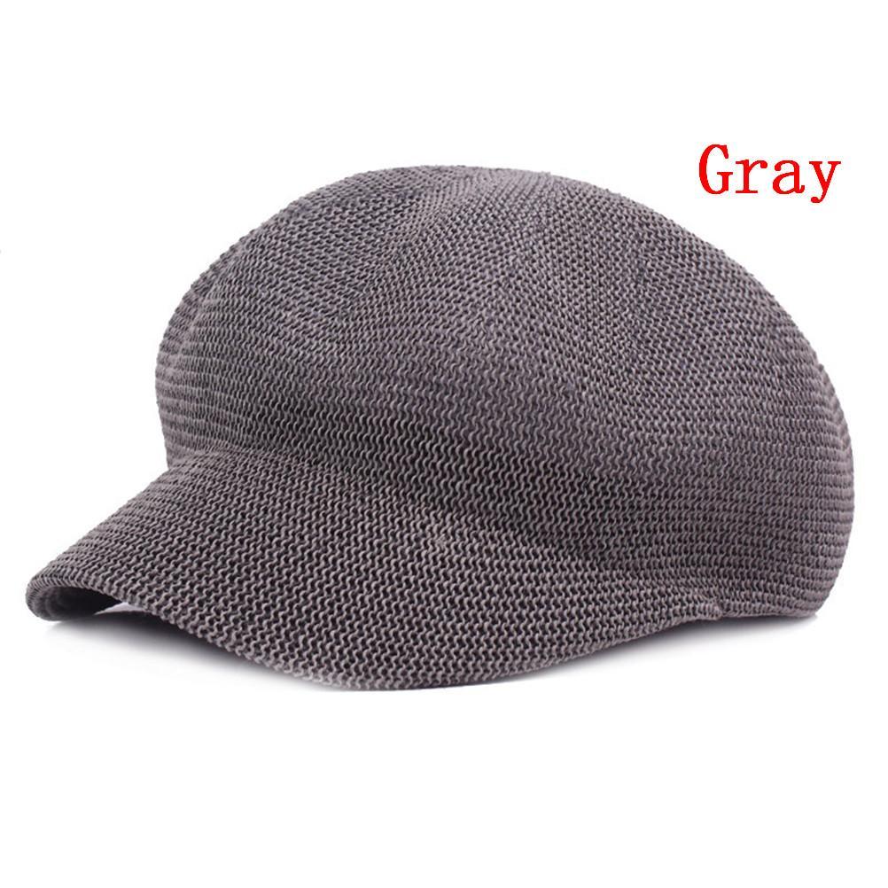 a6e8c7cb2 Summer Straw Knit Hat Breathable Sun Cap Hat for Women Knit Hats Visor  Women Leisure Caps