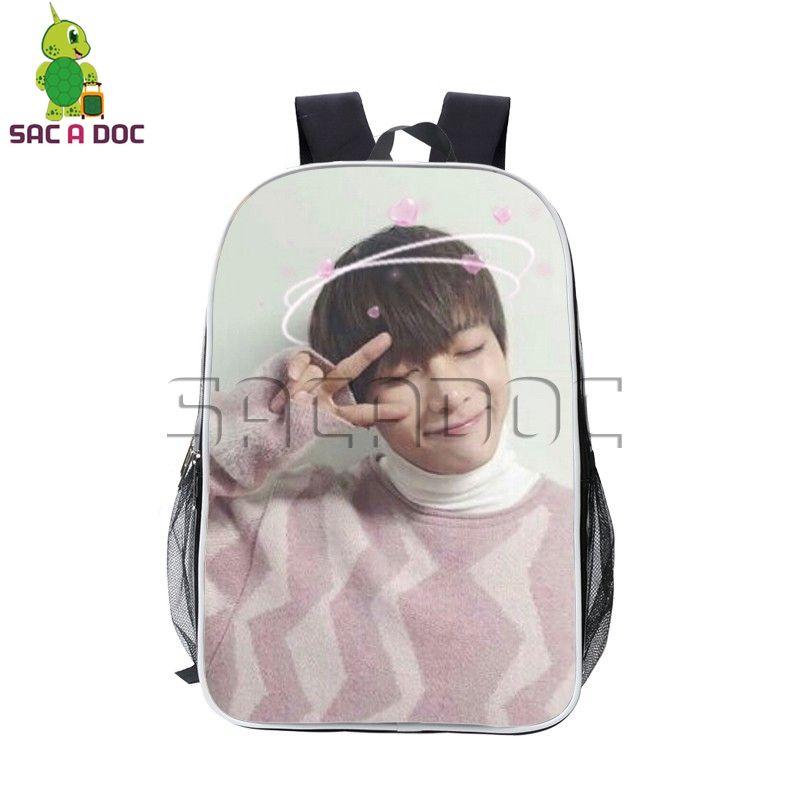 9e0ab8801792 ... Bag Outdoor  quality design 3deaa d7545 Cute BTS Bangtan Boys V Love  Heart Backpack Hip Hop Pu Leather ...