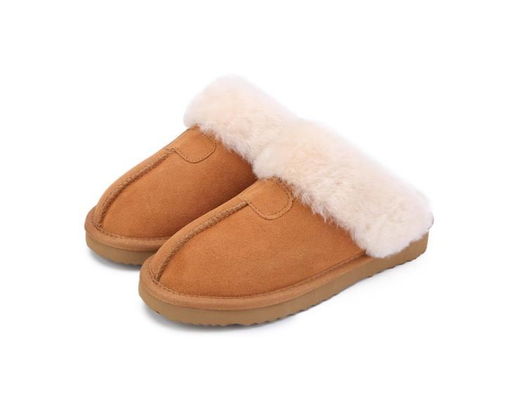 03c21cf7b63 Acheter Pantoufles Hiver Femelle Hiver Femmes Chaud Pantoufles Intérieur  Qualité Doux Laine Lady Maison Neige Chaussures De  30.83 Du Faaa