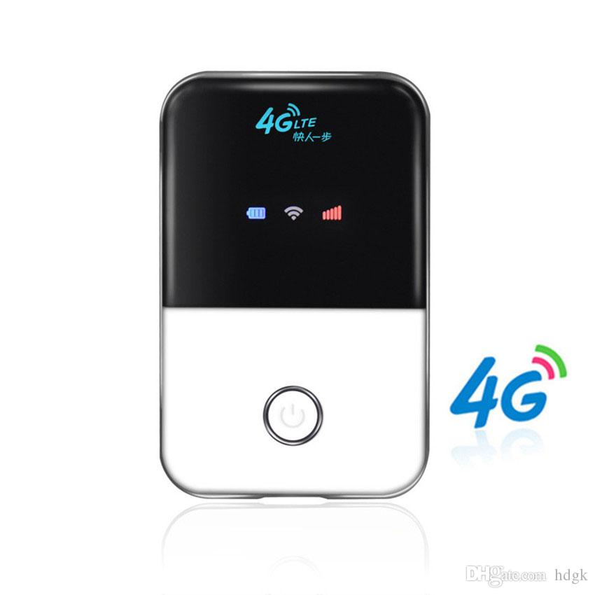 lte wlan router mit sim karte Großhandel Beste Qualität Niedriger Preis 4G Lte Tasche Wifi