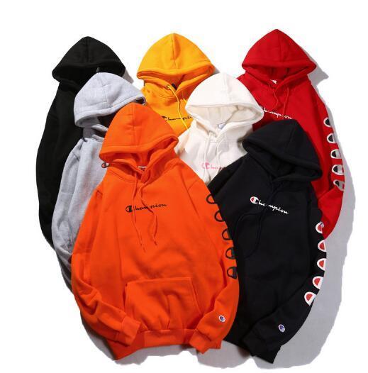 Unisex String Label Mulit Color Champ Brand Lady Polos Padded Hood  Sweatshirts Cute Boyfriend Style Classical Harajuku Thin Hoodies Sweater  Fahsion Casual ... c6ec33422