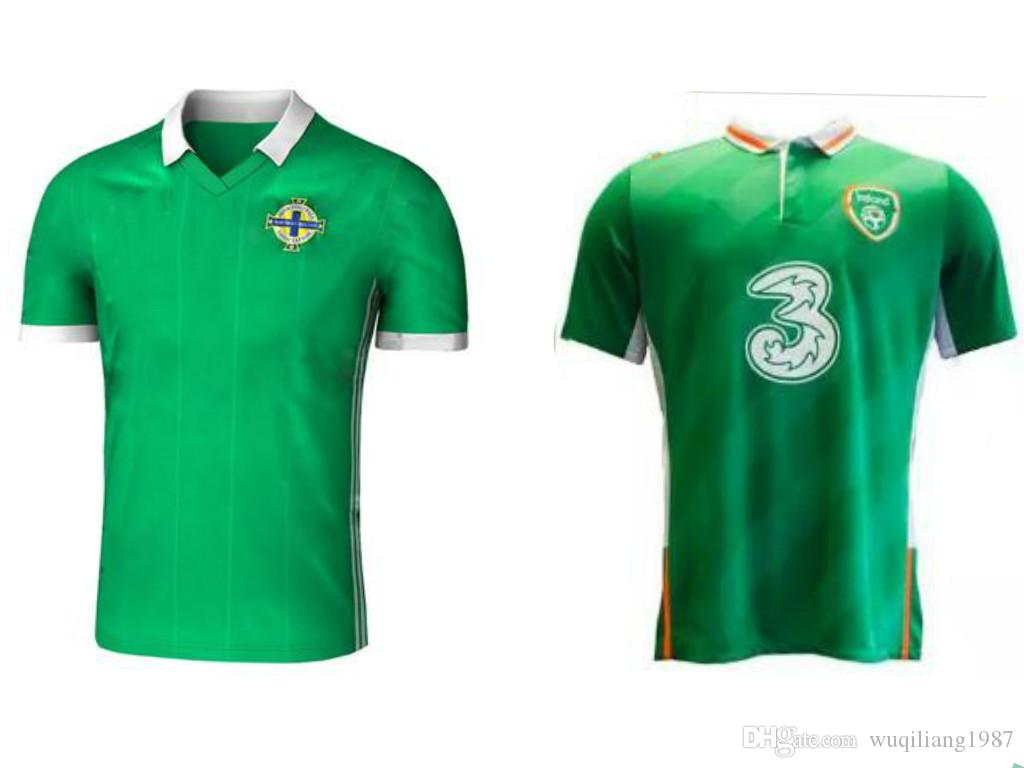 62f4de7bb96 ... 50% off newest 2018 northern ireland world cup jersey mcnair home green  away white k