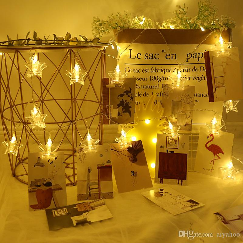 Led Photo Clip Holder Indoor Fairy String Lights Hanging Display Picture  Lights Ideal Gift Photo Clip For Dorms Home Christmas Tree Ornament Outdoor  ...