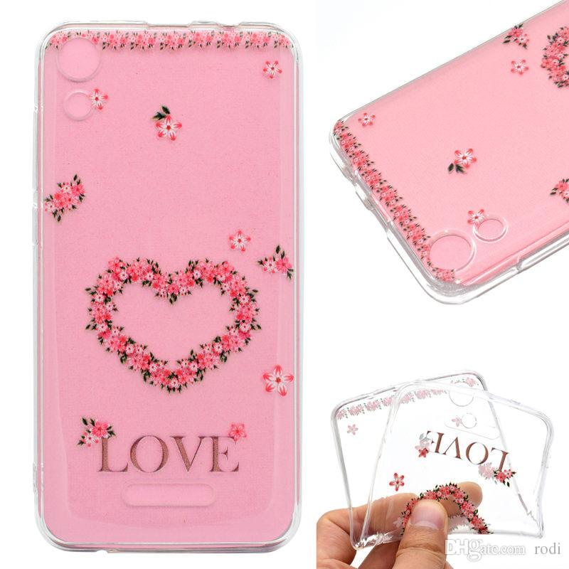 for wiko lenny4 phone case Back Cover Soft TPU painting Transparent Shell shockproof Dust Proof The manufacturer can customize it